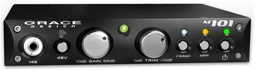 high-end mic preamp for home studio